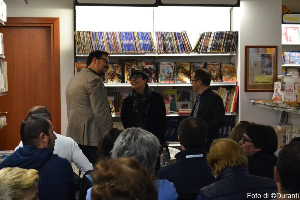 Pioggia inversa (Edizioni il Sextante), presentazione del 24 ottobre 2015, Libreria Murru, Cagliari.