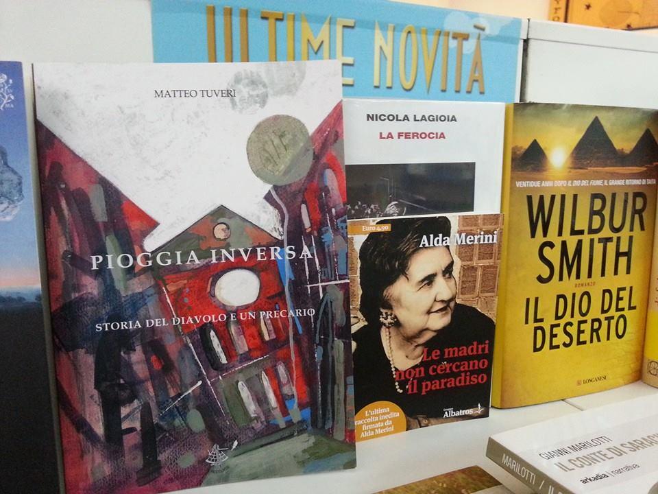 Pioggia inversa. Storia del Diavolo e un precario (Il Sextante) alla Libreria Murru di Cagliari